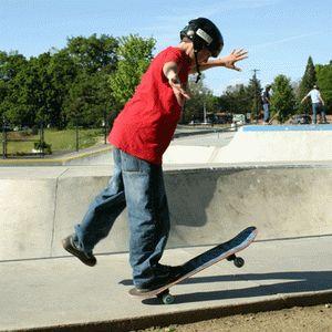 Разные стили катания на скейтборде