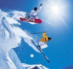 Сноуборд или горные лыжи?