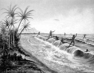 Серфинг на Гавайах