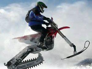 Права на снегоход и мотоцикл