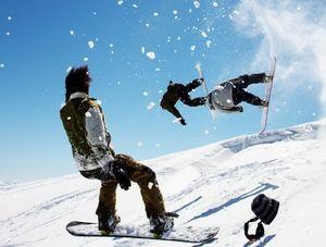 Продвинутые сноубордисты