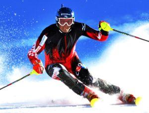 Научиться ездить на горных лыжах