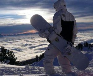 Первые шаги в сноубординге